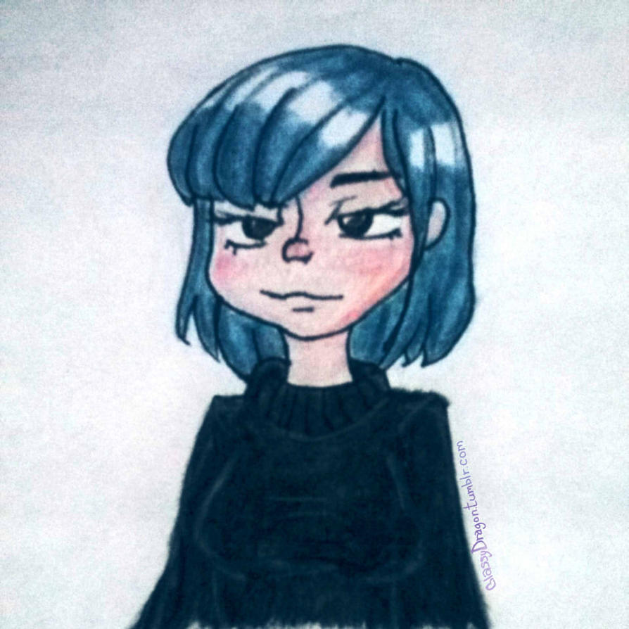 Missing my blue hair UnU by multiOtaku-FanAT1