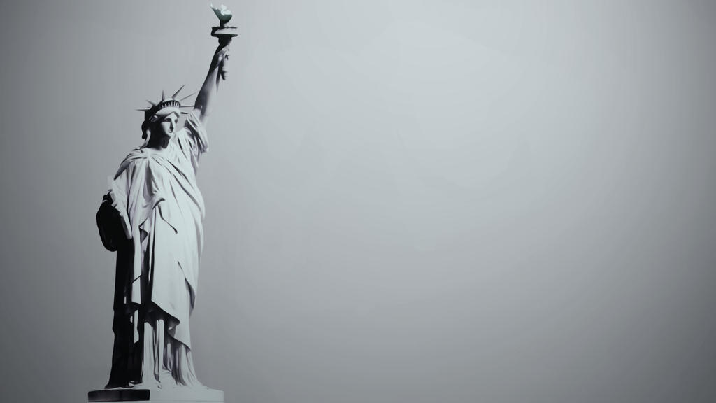 Stature of Liberty HDTV by suicidecrew