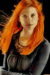 ginny weasley canvas portrait by suicidecrew