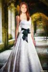ginny weasley wedding dress by suicidecrew