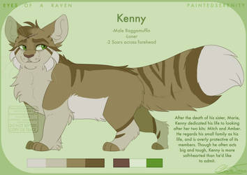 Kenny - Reference Sheet 2018 by PaintedSerenity