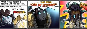2009-08-27: Lord of Icecrown by hikari-chan
