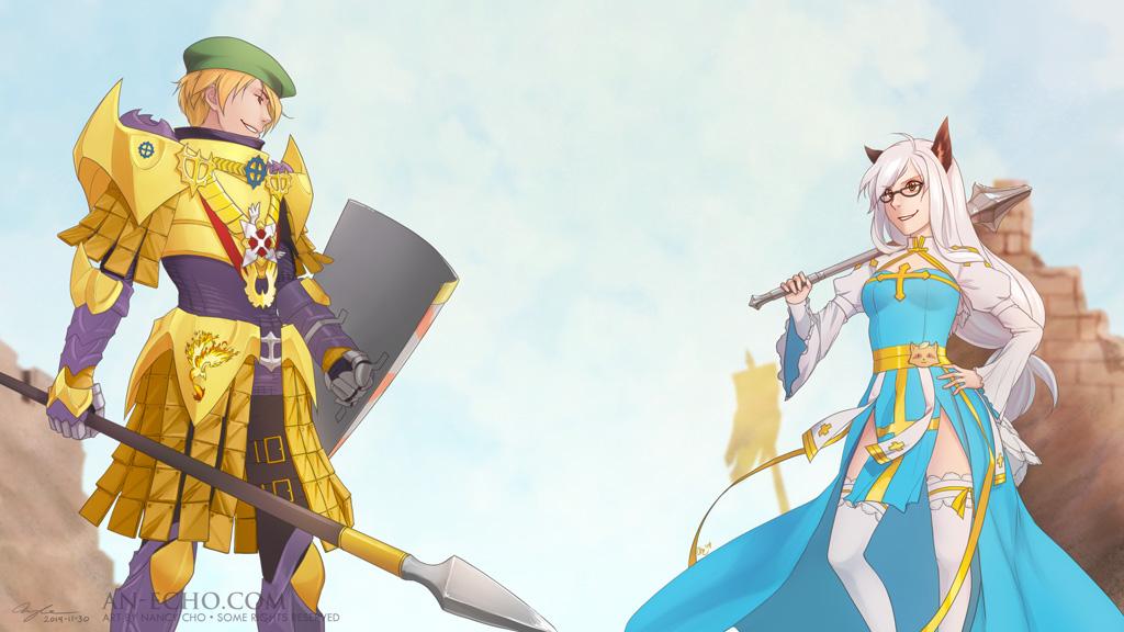2014-11-30: Sibling Rivalry 2 by hikari-chan