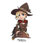 2016-10-14: Chibi Witch!Mercy