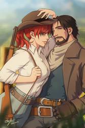 2018-08-16: Wild West by hikari-chan