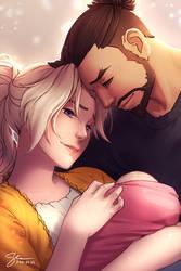 2018-09-03: Healing Arrow Family by hikari-chan
