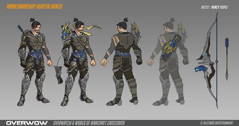 Fan Concept: Marksmanship Hunter Hanzo