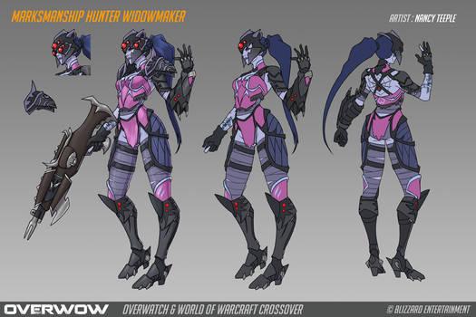 Fan Concept: Marksmanship Hunter Widowmaker