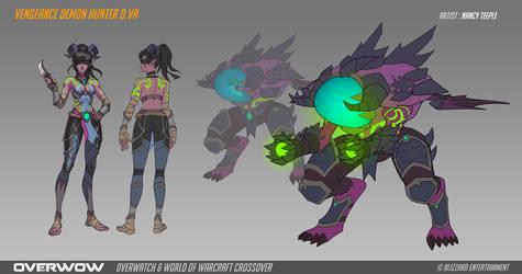 Fan Concept: Vengeance Demon Hunter D.Va