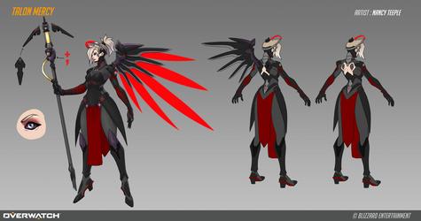 Fan Concept: Talon Mercy