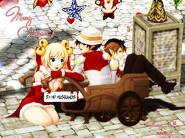 Merry Christmas 2 - Commission by hikari-chan