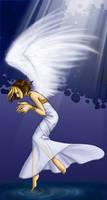 Floating Angel by hikari-chan