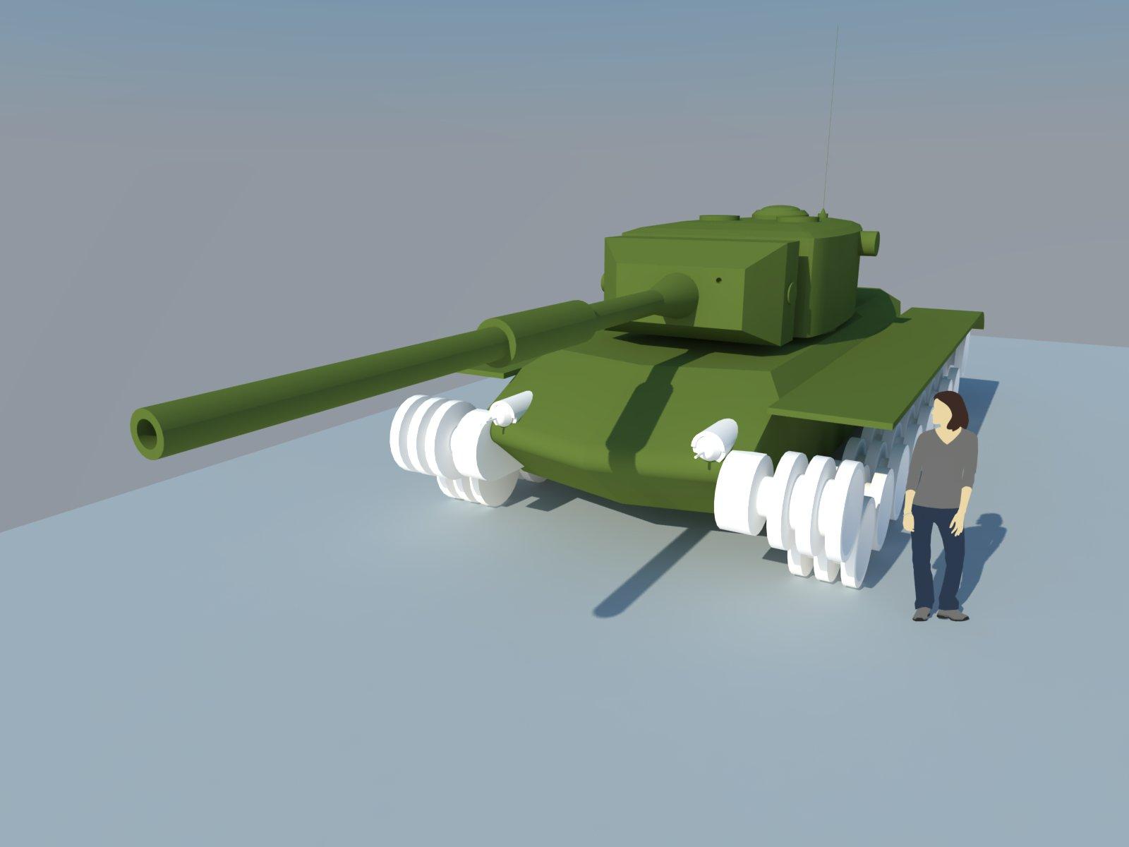 Sketchup Redevelopment Tanks - Fan Art - World of Tanks