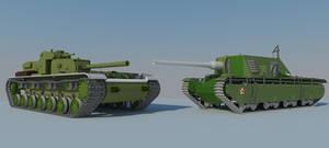 KV-4-152 TD vs SU-35-152