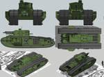 Mk.VIII M1A1 Jumbo