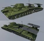 1942 Heavy tank cruiser Katusya variant