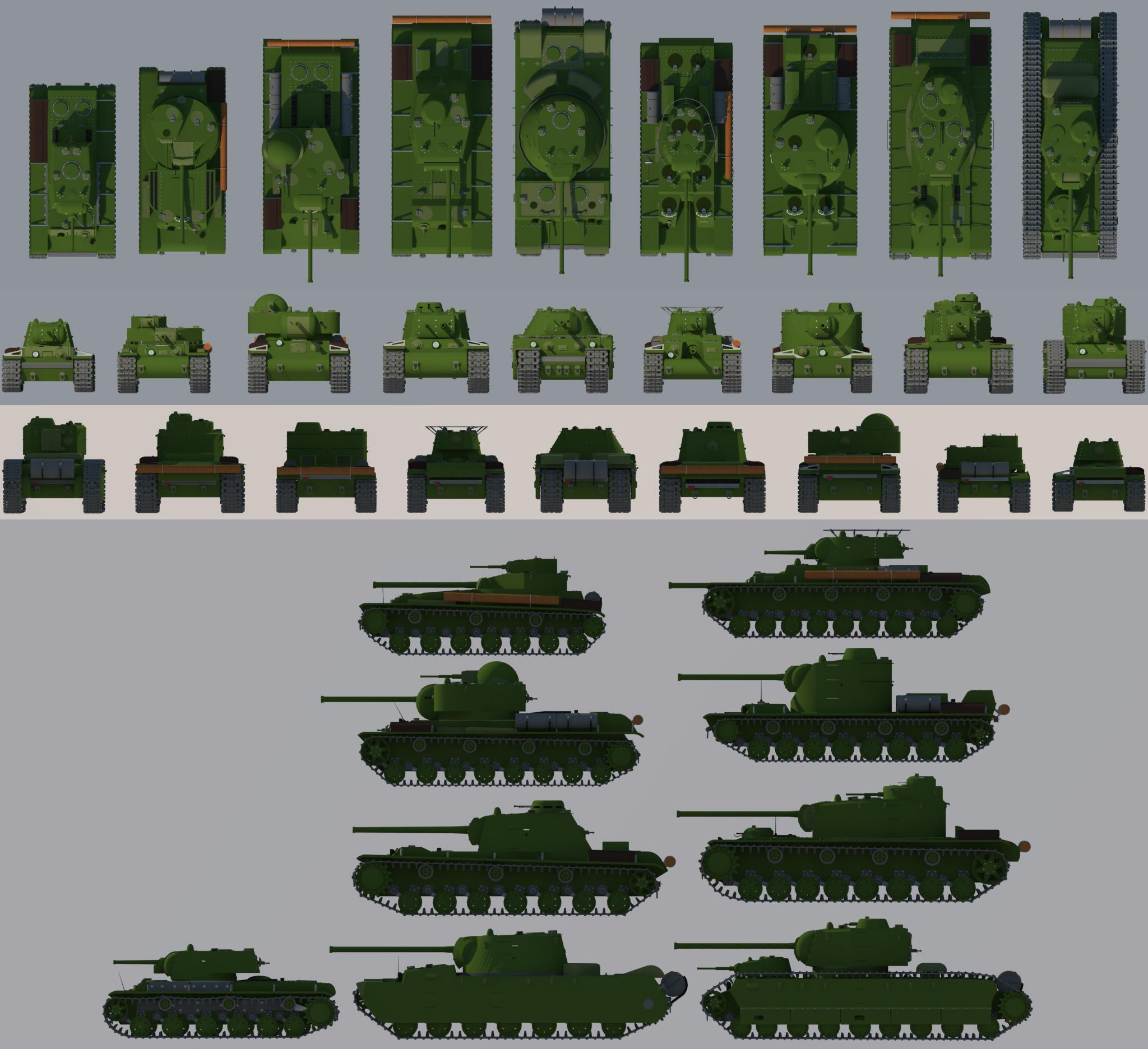 KV-4 collection ortho view