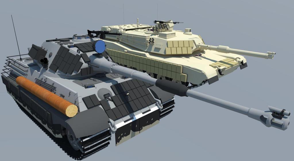 abrams tank vs tiger - photo #4