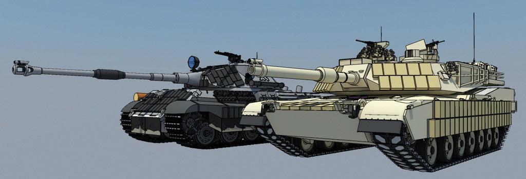 abrams tank vs tiger - photo #32