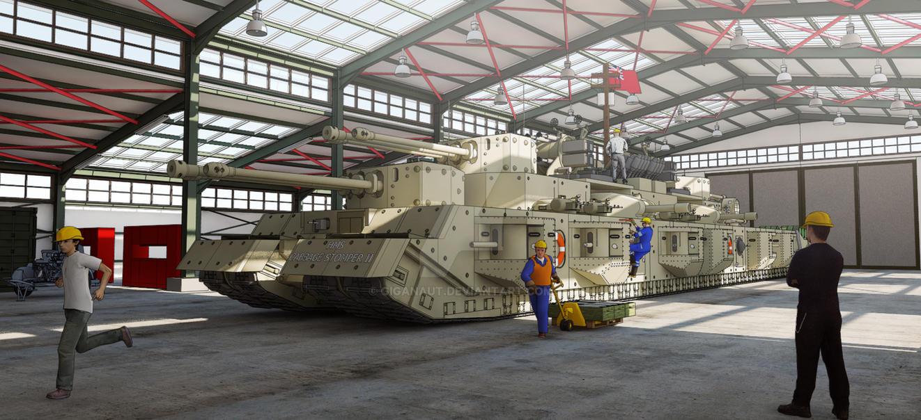 TOG II HMS CABBAGE STOMPER 2 garage by Giganaut on DeviantArt