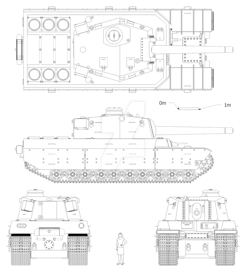 Type 2604 Heavy Tank by Giganaut ...