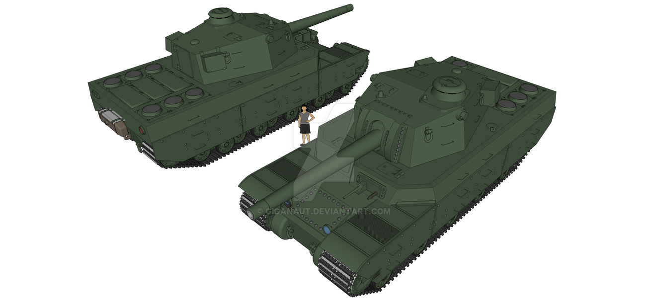 Type 2604 Hvy Tank by Giganaut ...