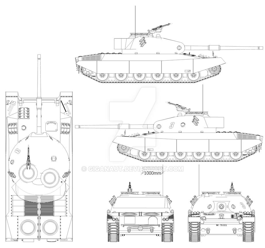 Pz-74 veriante E by Giganaut