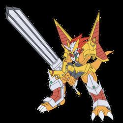 VictoryGreymon by dgk3593