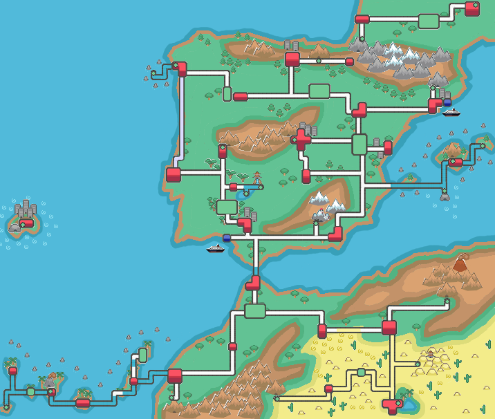 Map Of Spain And North Africa.Pokemon Region Spain Portugal And North Africa By Gonzaloguay On