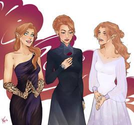 Archeron Sisters by 0Jem0