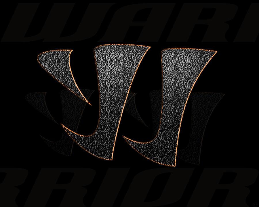 Warrior hockey logo