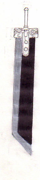 Buster Sword WIP by WolfenAlchemist