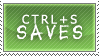 Ctrl-S Saves Stamp by silvereelve