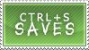 Ctrl-S Saves Stamp by silvereelve