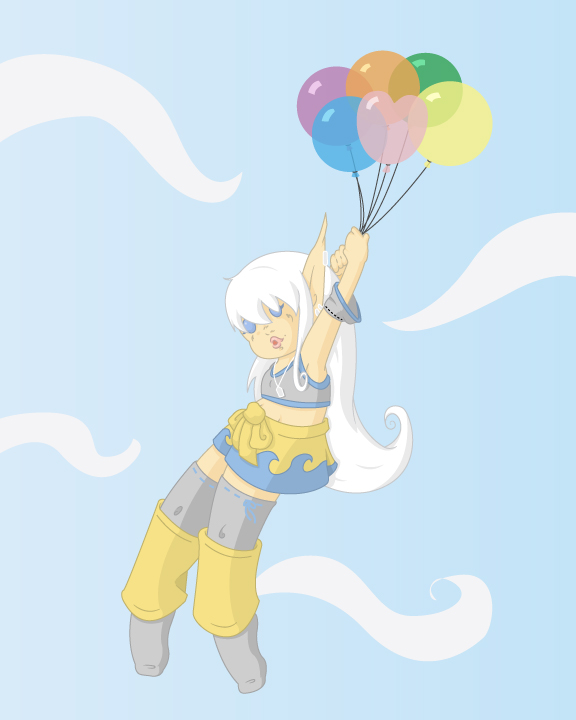 Balloons by silvereelve