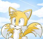 Tails at the sky