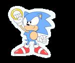 Sonic CD style