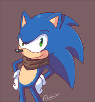 Ey It's Sonic! by Domestic-hedgehog