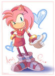 Amy In Sonic Boom by DomesticMaid