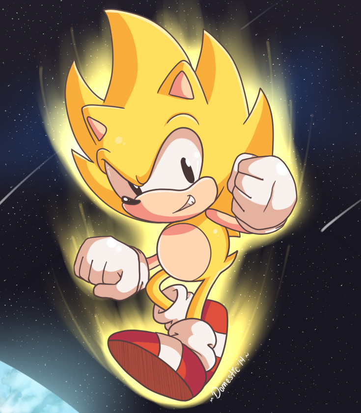 The Ultimate Super Sonic By Domestic Hedgehog On Deviantart