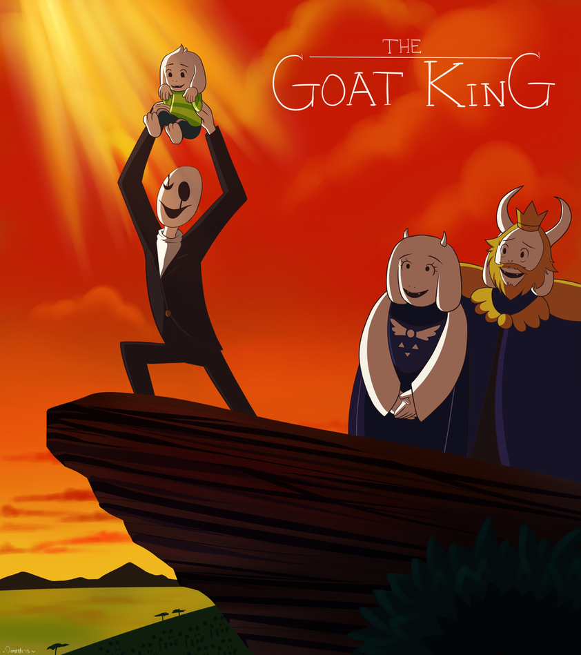 The Goat King by Domestic-hedgehog