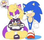 Commission Selena and Sonic