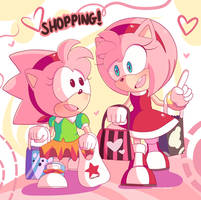 Shopping with the Amy's by Domestic-hedgehog