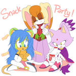 Commission Snack Party
