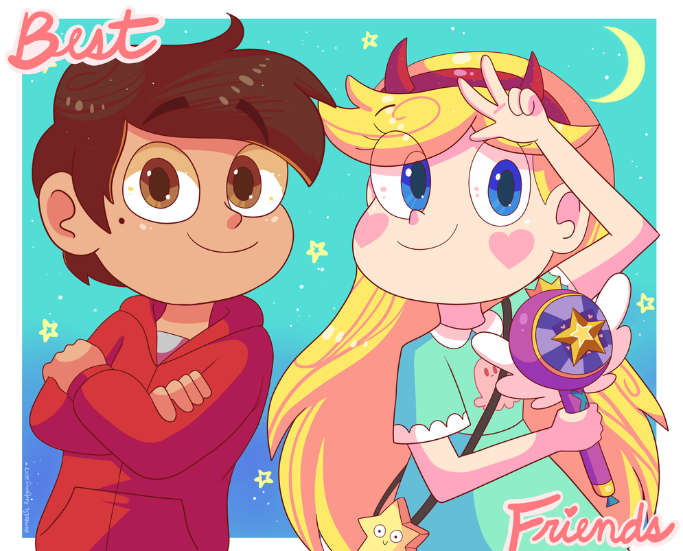 Star and Marco besties by Domestic-hedgehog on DeviantArt