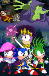 The Council of Four by Domestic-hedgehog