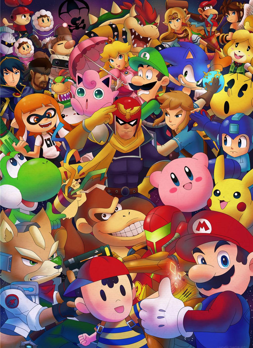 Smash Bros Ultimate Happy New Year 2019