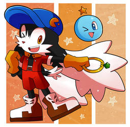 Klonoa with Huepow