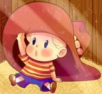 Lucas Under the Hat