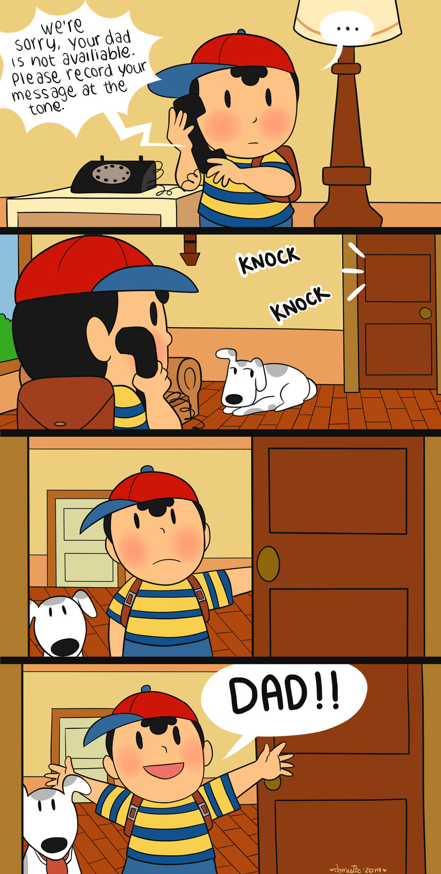Earthbound Happy Father's day by Domestic-hedgehog on DeviantArt